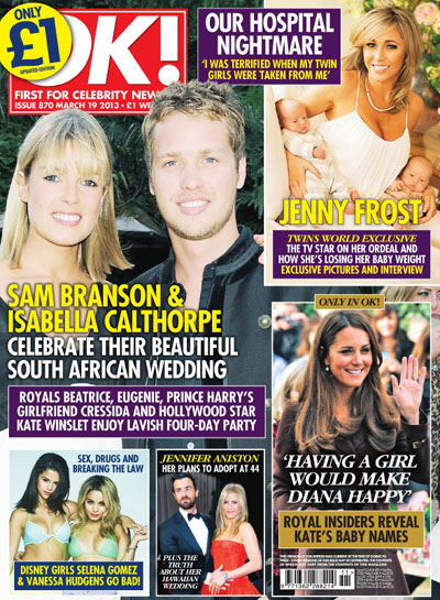 OK! First for Celebrity News N.870 - March 19, 2013