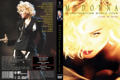 Madonna - Blond Ambition World Tour (1990) DVD9