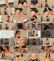 Kat Gibbs - Kat strips from her cute blue dress - ThisIsGlamour - (2013/FullHD/1080p/308.49 Mb)
