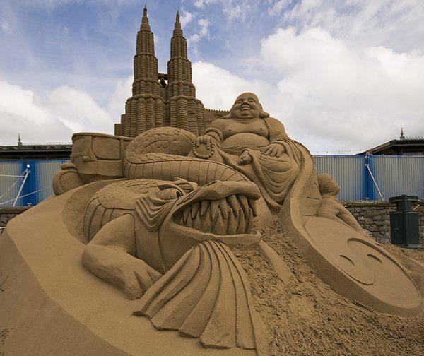Rzeźby z piasku #3 33