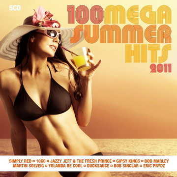 VA - 100 Mega Summer Hits 2011 (5CDs Box Set) (MP3)