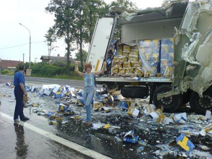 Wypadki ciężarówek 36