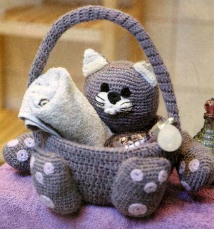 Сайт корзиночка ру вязание - Master class.