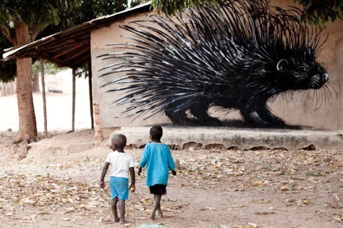 Street art: Afryka 12