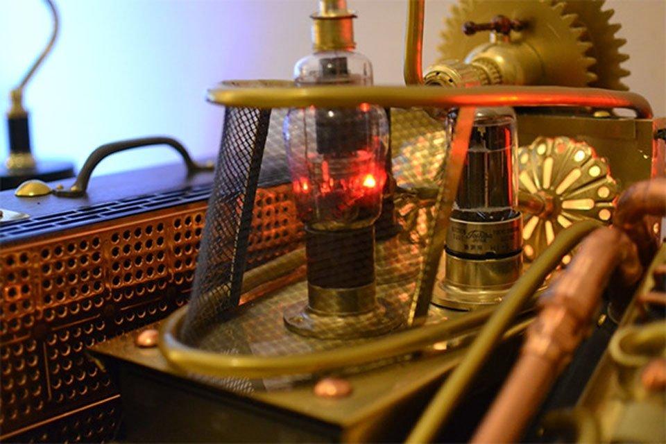 Komputer w stylu steampunk 6