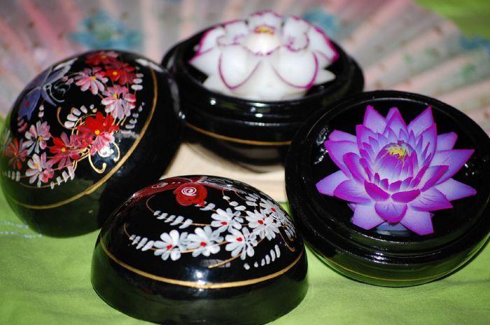 Kwiaty z mydła 7